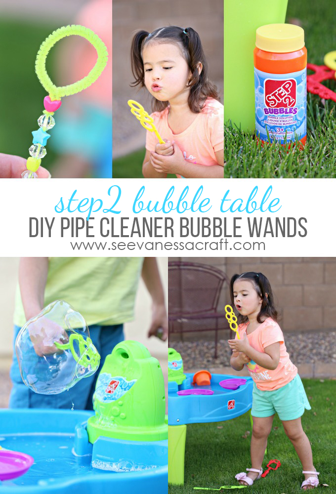 DIY Bubble Wands and Step2 Bubble Table copy