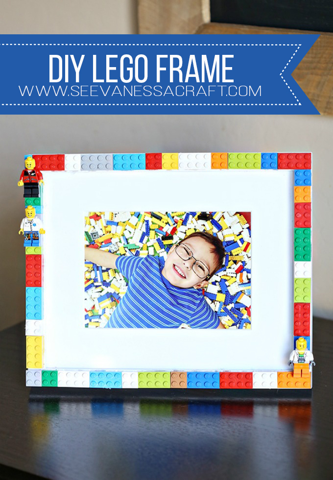 DIY LEGO Frame Craft for Kids