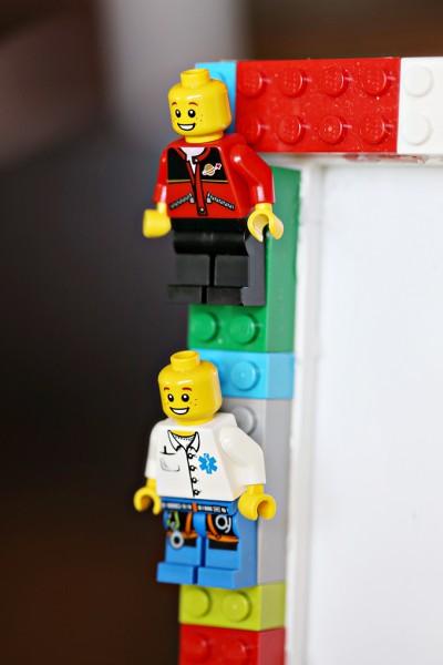 DIY LEGO Minifigures Frame for Kids