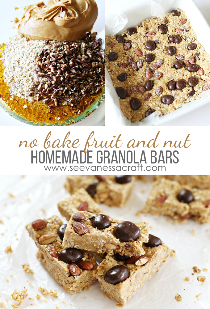 No Bake Granola Bar Recipe copy