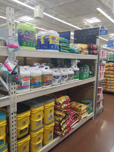 Walmart Kitty Litter