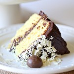 Recipe: Yellow Easter Cake & Chocolate Nest