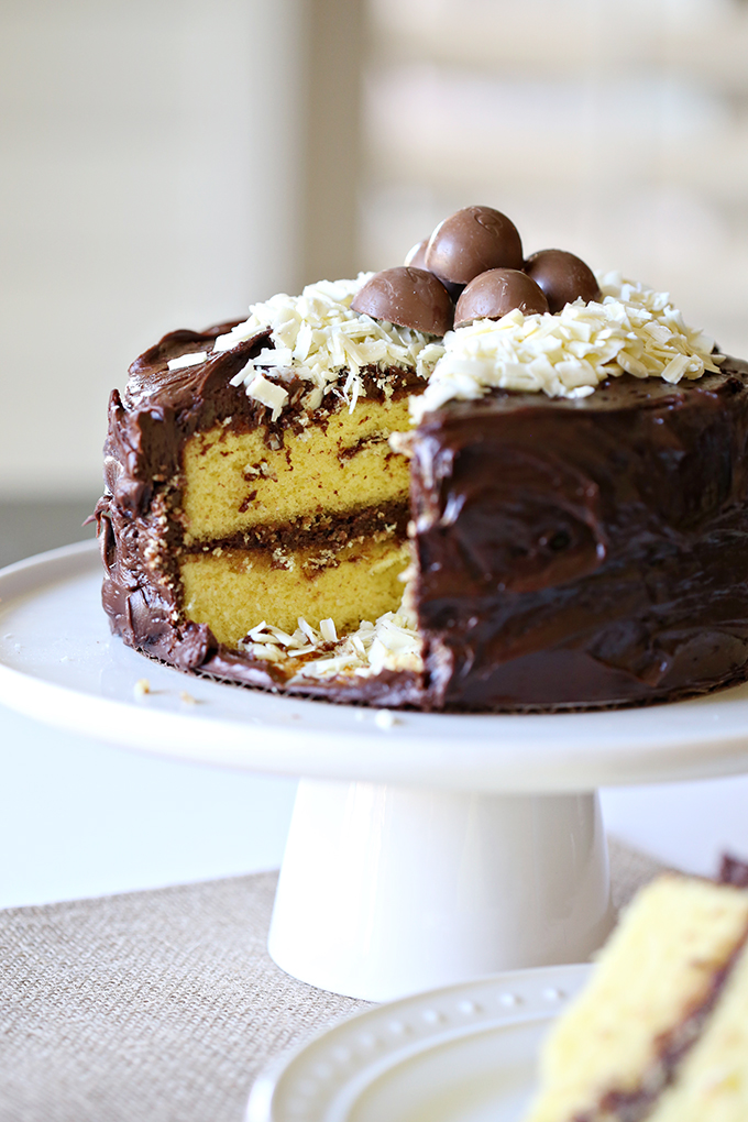 Yellow Chocolate Easter Cake 5 copy