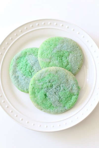 Earth Day Cookie Recipe with Sesame Street