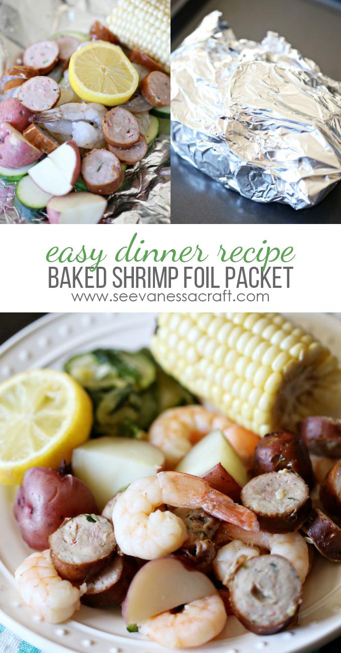 Easy Baked Shrimp Foil Packet Recipe
