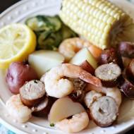 Recipe: Easy Baked Shrimp Foil Packets
