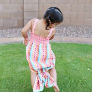 Craft: Mermaid Towel Tail Tutorial