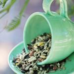 Craft: DIY Teacup Bird Feeder