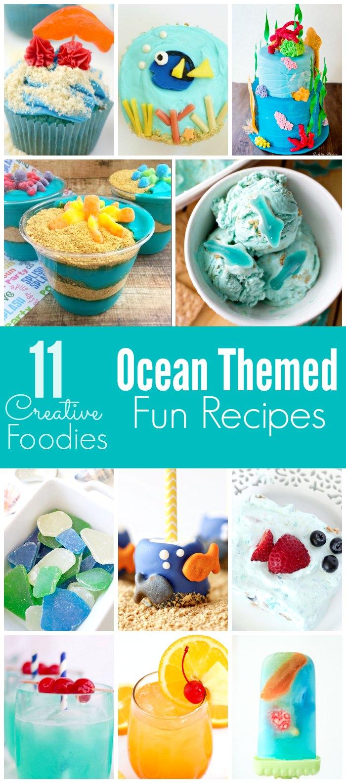 10+ Ocean Themed Recipes