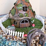 Craft: Bird Bath Fairy Garden