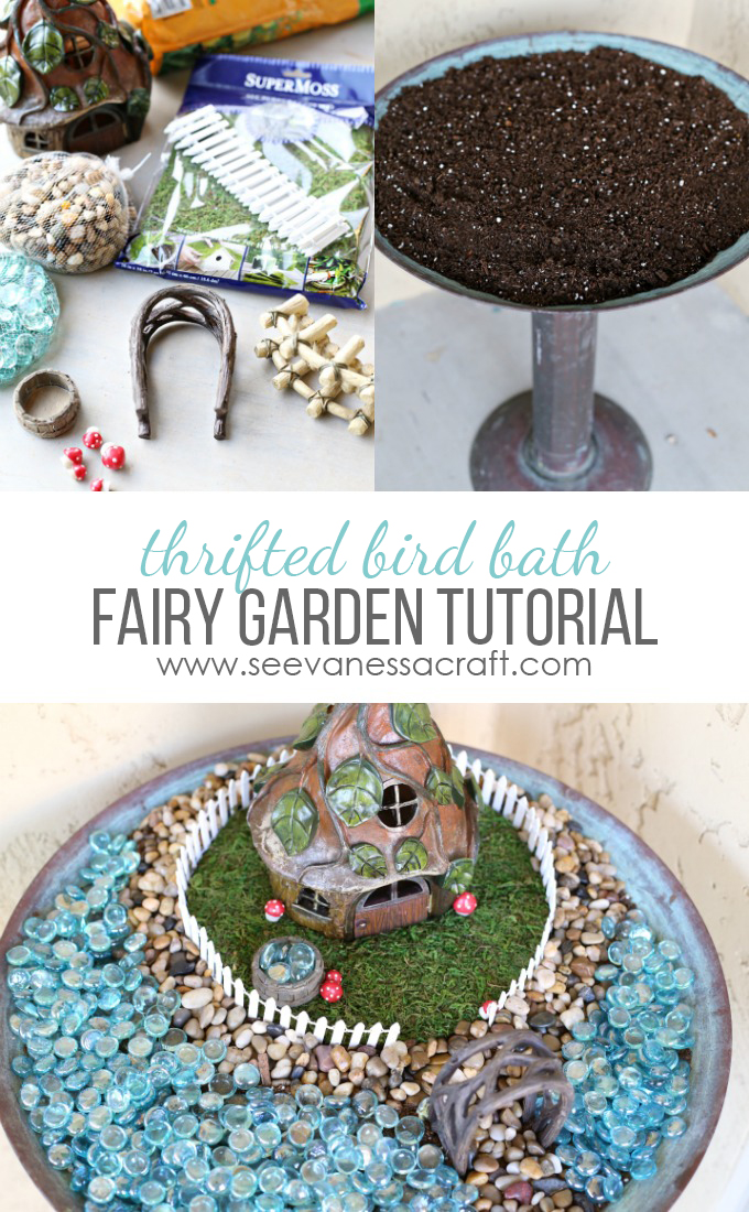 Fairy Garden Bird Bath Tutorial copy