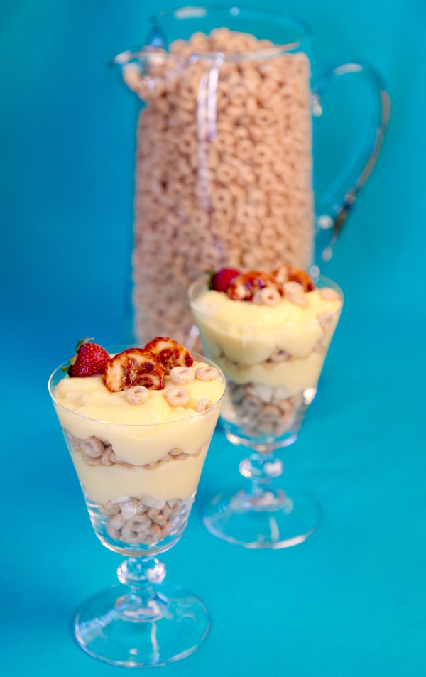Cheerios Pudding Parfait