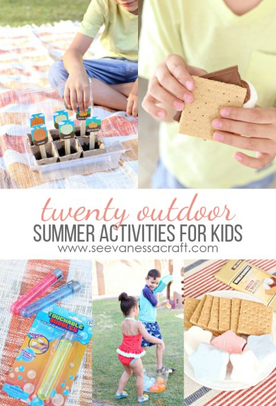20 Outdoor Summer Activities for Kids copy