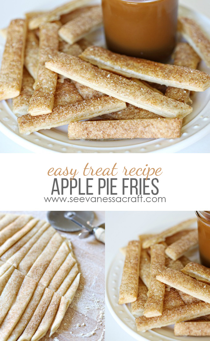 Apple Pie Fries Back to School Treat Idea copy