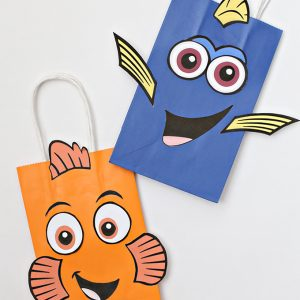 Finding Dory Printable Bags and Party Favor Ideas