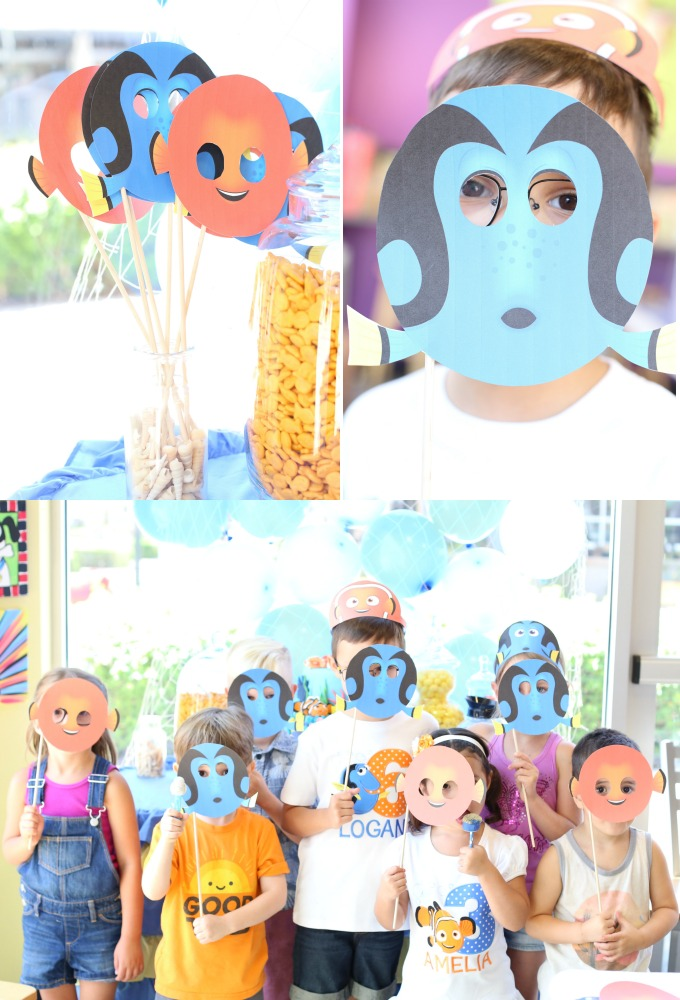 Finding Dory Birthday Party 1