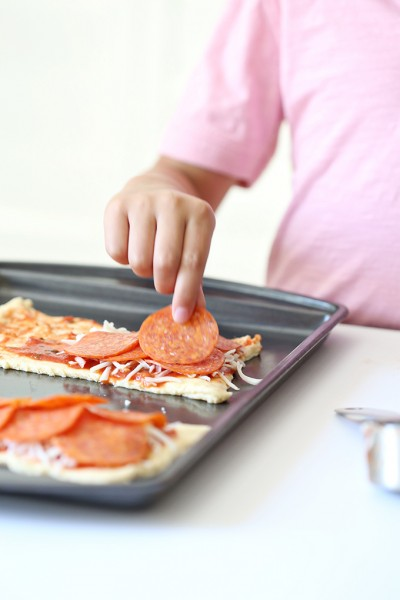 Homemade Pizza Pocket Recipe for Kids