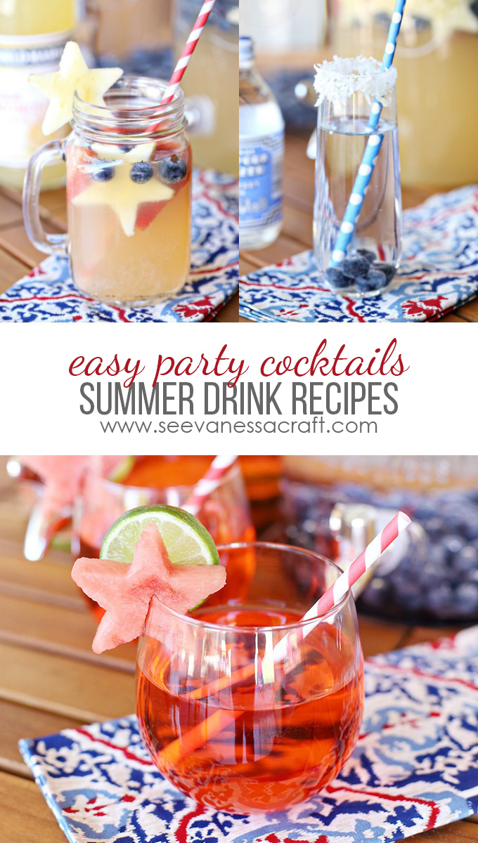 Summer Cocktails and Mocktails Drink Recipes with World Market copy