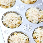 Recipe: Kale and Spinach Mac & Cheese Cups