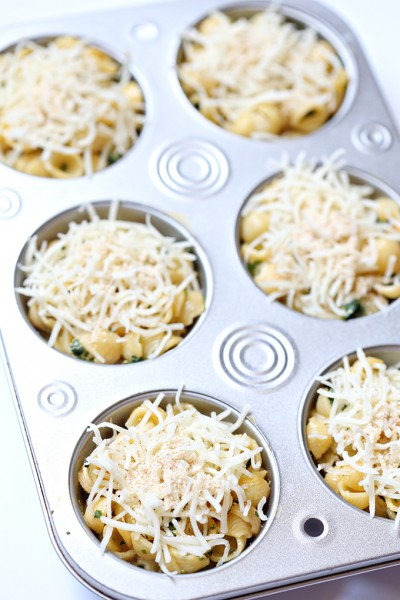 Muffin Tin Mac and Cheese Cups for School Lunches