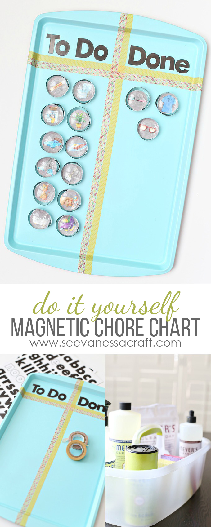 DIY Magnetic Chore Chart for Kids Tutorial copy
