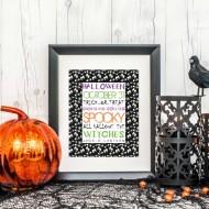 Halloween: Free Party Printables