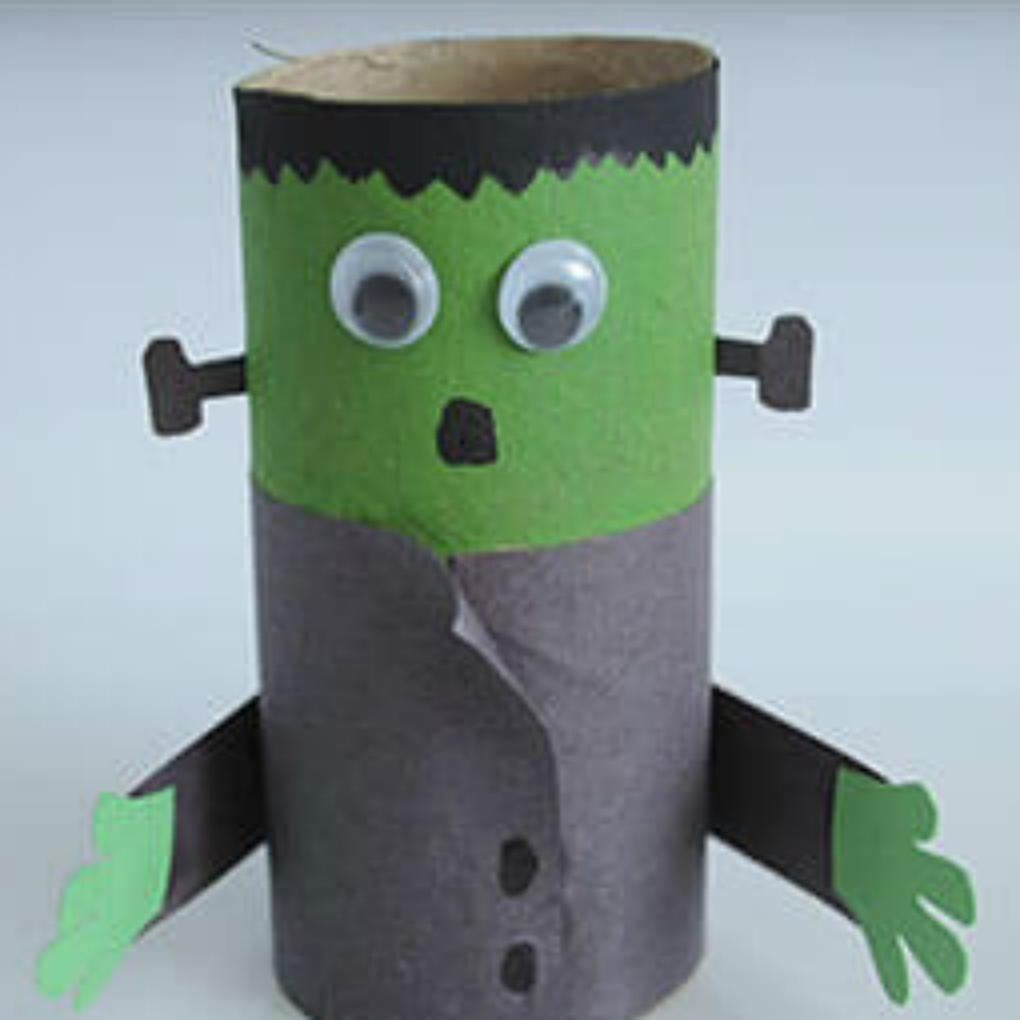 halloween: frankenstein monster craft for kids - see vanessa craft