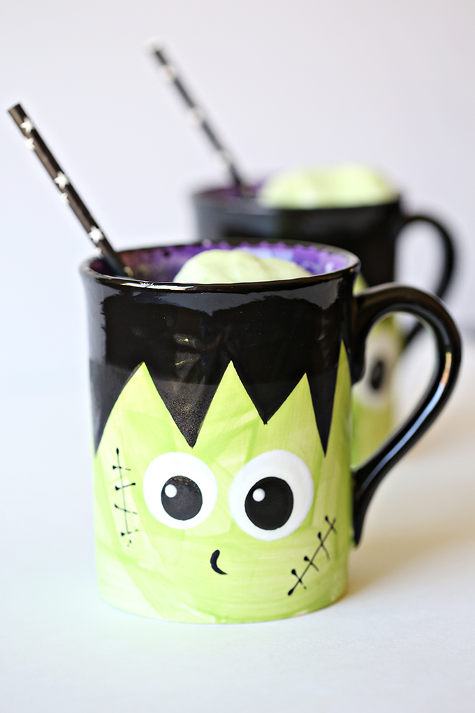 Halloween Frankenstein Punch Recipe 1 copy