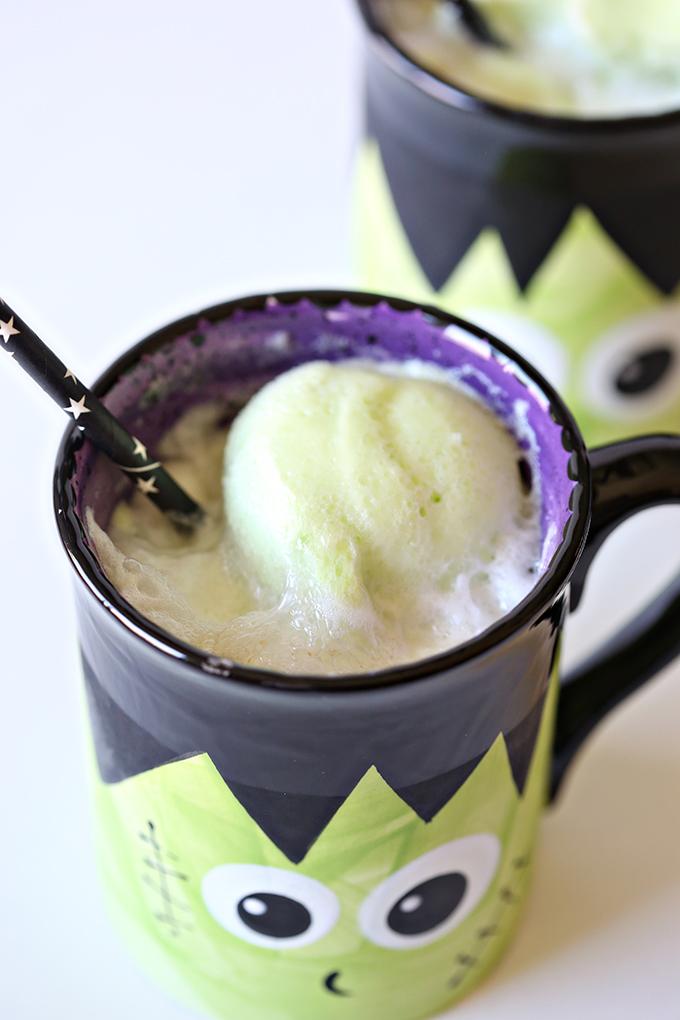 Halloween Frankenstein Punch Recipe 4 copy