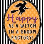 Halloween: 3 Free Spooky Printables