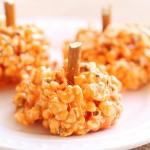 Recipe: Pumpkin Marshmallow Popcorn Balls