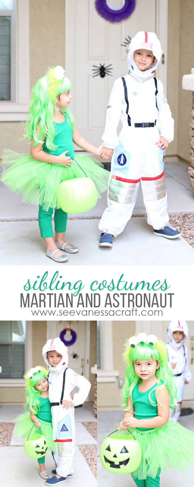 martian-and-astronaut-sibling-halloween-cosume-idea