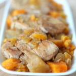 Recipe: Slow Cooker Pork Chops with Apples & Sweet Potatoes