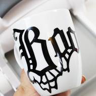 Halloween Boo Mug with Sizzix Big Shot and Vinyl