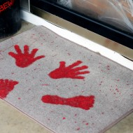 Halloween: Blood Splattered Doormat