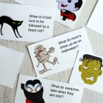 Halloween: Printable Lunchbox Jokes