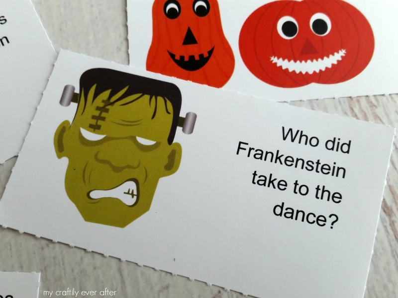 Halloween: Printable Lunchbox Jokes - See Vanessa Craft
