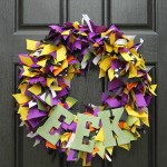 Halloween: DIY Ribbon Wreath