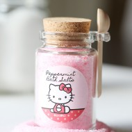 Craft: Hello Kitty Pink Peppermint Bath Salts