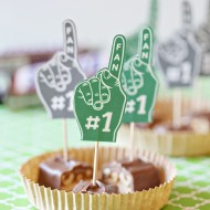 Craft: Game Day Football Foam Finger Printables