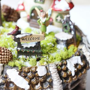 Winter Christmas Fairy Garden Kit Gift Idea