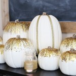 Thanksgiving: Gold Pumpkin Tablescape