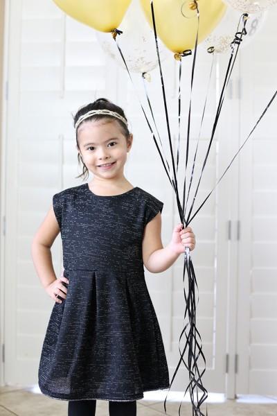 Kid Friendly New Year's Eve Balloon Countdown Activity
