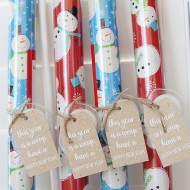 Christmas: Holiday Wrapping Paper Gift Idea