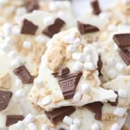 Recipe: S'mores Marshmallows Chocolate Bark