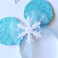Disney: Easy Frozen Mickey Ears Headband