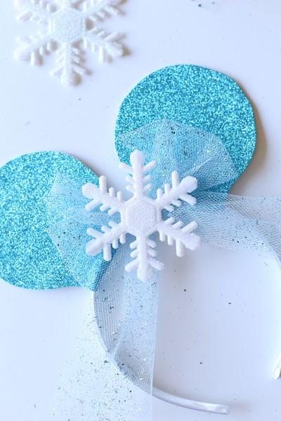 Disney Frozen Mickey Ears Tutorial