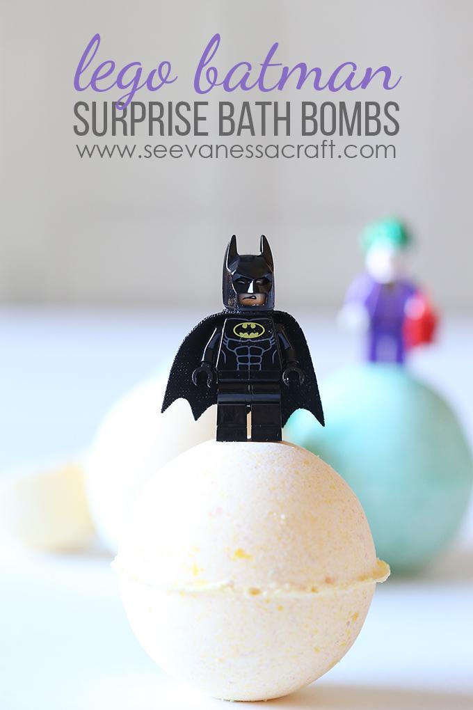 LEGO Batman Surprise Bath Bombs