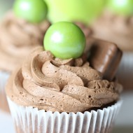 Recipe: Tim Tam Chocolate Ganache Cupcakes