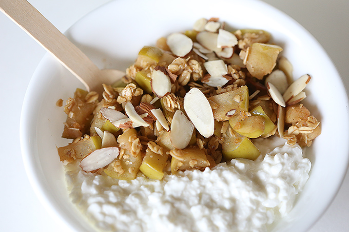 Apple Crisp Cottage Cheese Bowl 6 copy